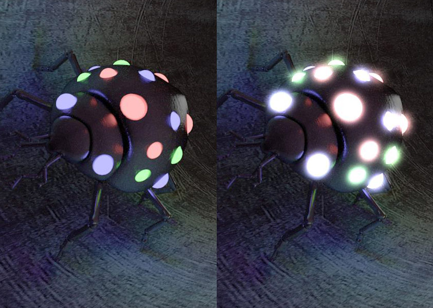 Glare Shader plugin for CINEMA 4D