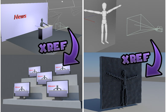 XRef shader plugin for CINEMA 4D