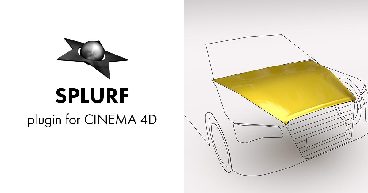 SPLURF - blackstar - custom plugins for CINEMA 4D