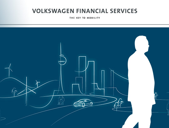 Volkswagen Financial Services - Living Wall and Financial DRIVE iPad App
