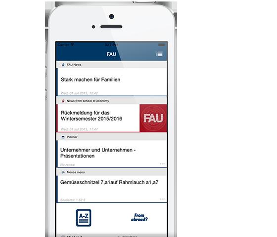 Campus App für iOS und Android