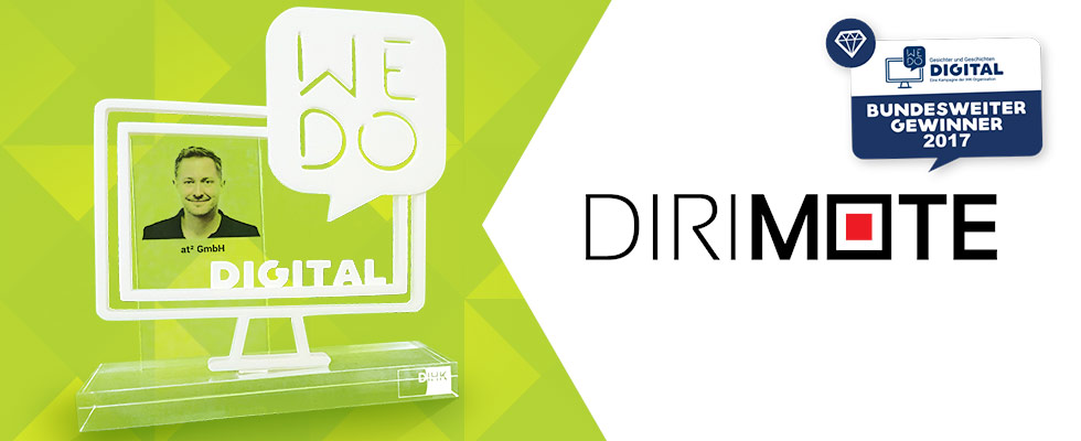 DIRIMOTE - Gewinner des WE DO DIGITAL Awards 2017 der DIHK
