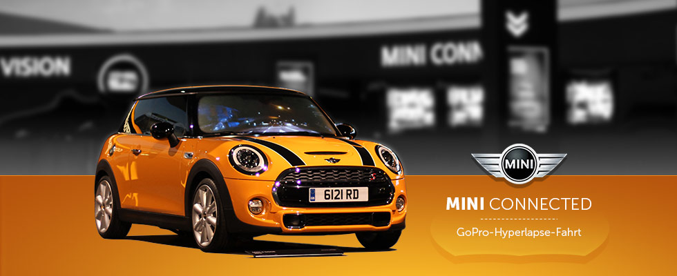 MINI Connected - Exponat für BMW MINI