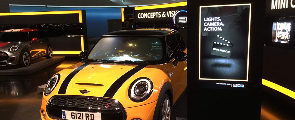 MINI Connected - exhibit for the BMW Museum
