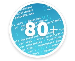 Über 80 Programmiersprachen
